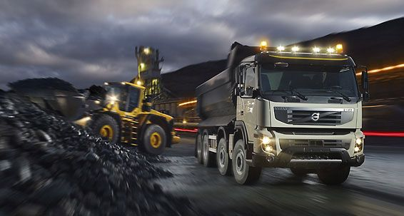 Gallery - Volvo FMX : Volvo Trucks
