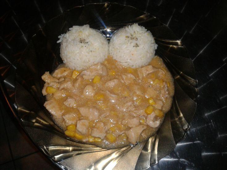 Kuracie soté s kukuricou