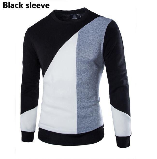 O-neck Long Sleeve Mens Sweater