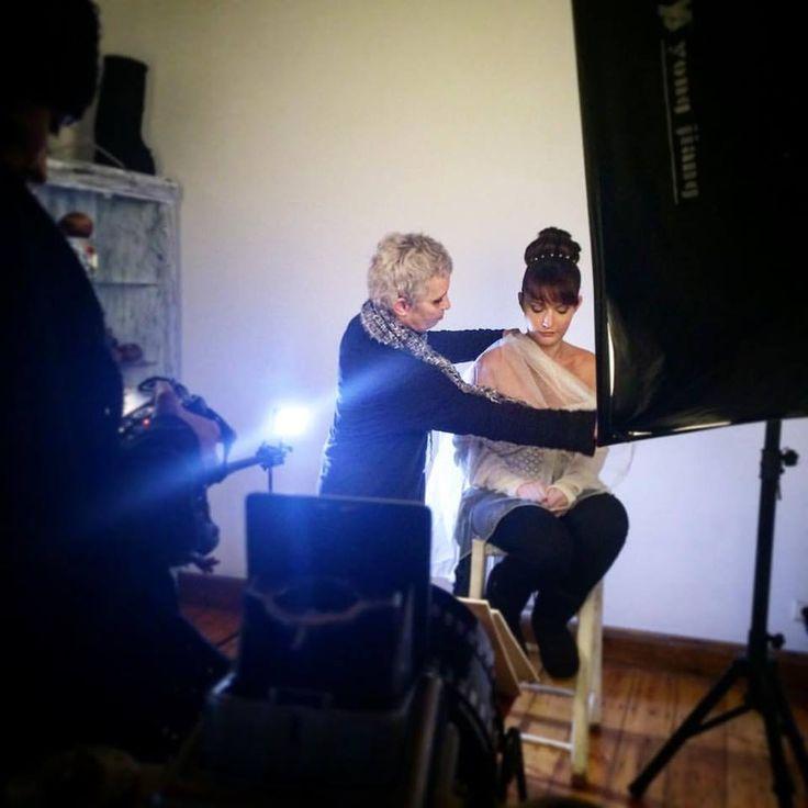 Photoshooting time  Photographers : Stefania Mi & Zooey Zoe Valve ,  Hair Styling Kaiti Aravantinou ,  Make up Antigoni Livieratou