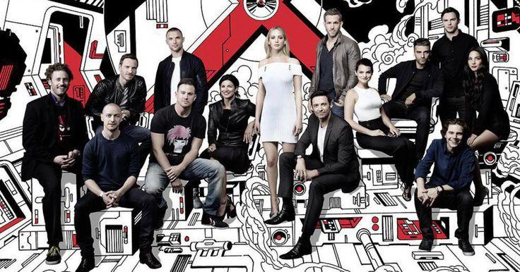 X-Men Apocalipsis: ¡Espectacular imagen de todo el equipo de mutantes! La extensa familia de X-Men se reune en esta magnífica fotografía que publica en nuevo número de la revista Empire y que es digna de póster.