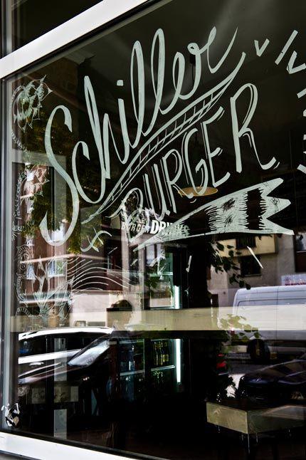 Schiller Burger - Süßkartoffel Pommer