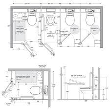 enclosed toilet room dimensions