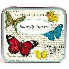Sticker set Cavallini & Co vintage vlinders