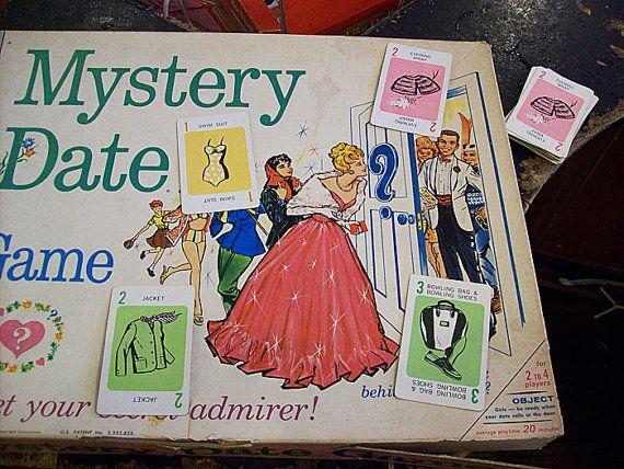 Mystery Date Board Game Vintage Mystery Date Board