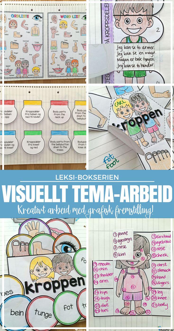 LEKSI-bøker! Kjempeartig med grafisk fremstilling av ulike tema. Visuell læring er kjekt! :)