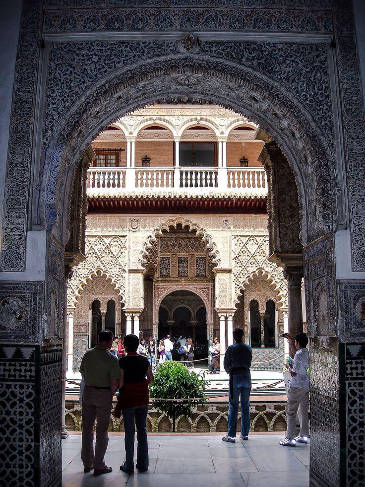 Patio de las Doncellas, Reales Alcazares (Sevilla - Spain)