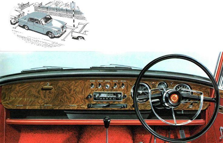 Wolseley 6 110 Dash Board Classic Cars Pinterest