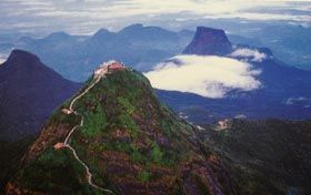 While volunteering in Sri Lanka, Challenge yourself by climbing to the summit of Sri Pada (Adam's Peak) which is said to be the highest outdoor stairway in the world - 5200 steps. Find out More: http://www.vwbinternational.org/