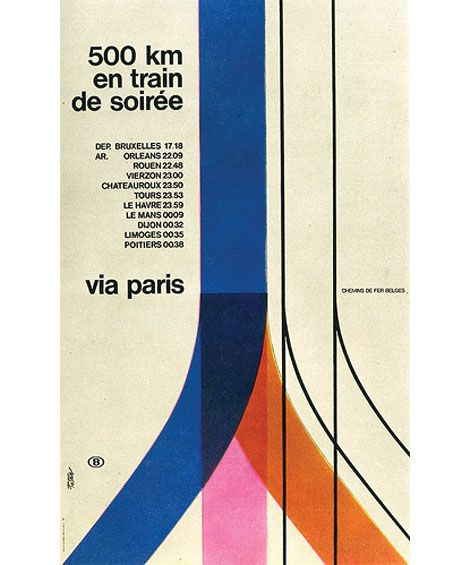 500km en train de soiree