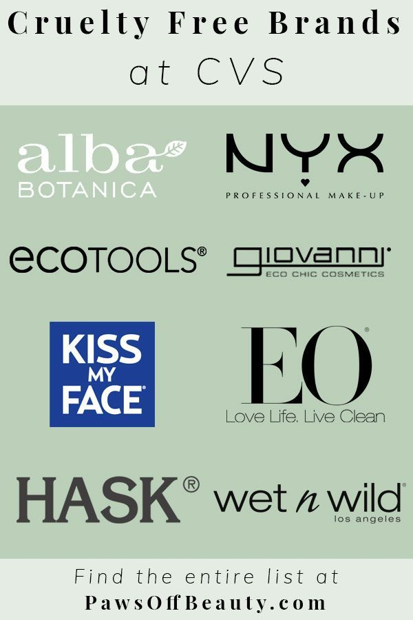The drugstore is a treasure trove of cruelty free goods! Don't forget about CVS when you need to stock up on beauty products. Check out all the Cruelty Free Brands at CVS! #crueltyfree #drugstoremakeup