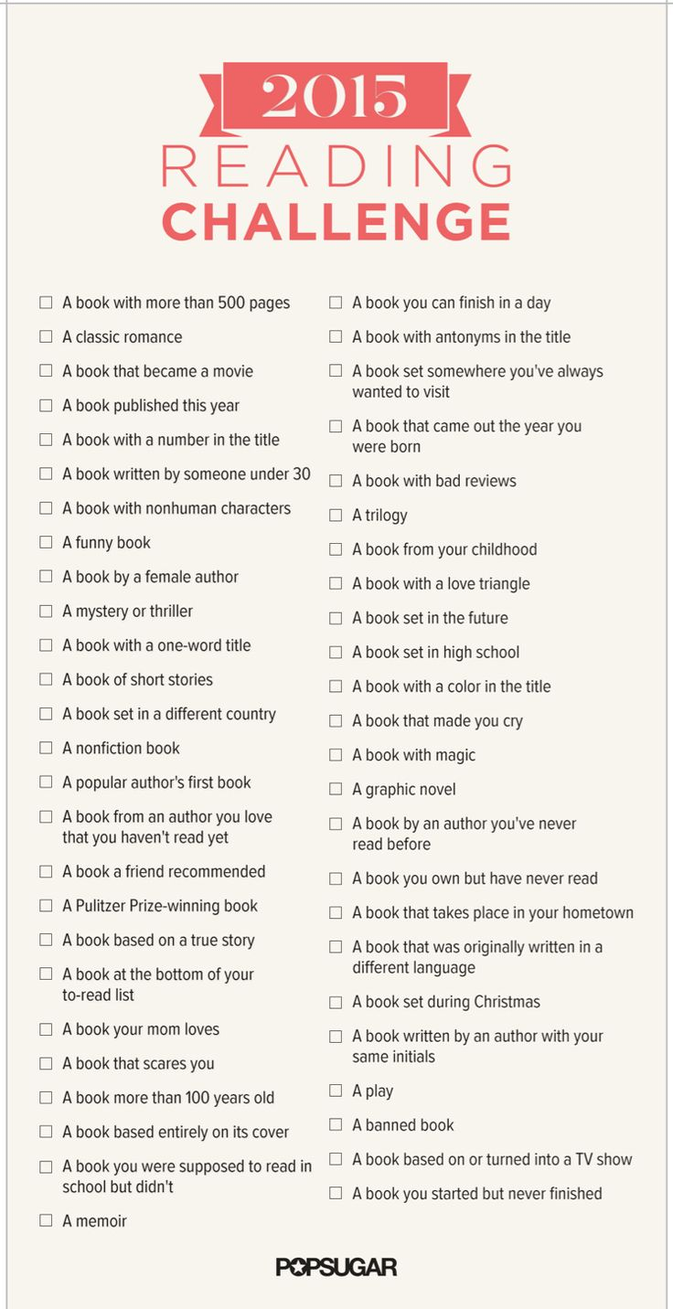 Take Our Ultimate Reading Challenge!