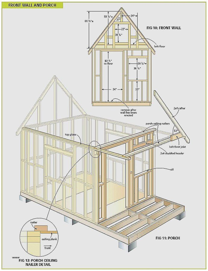 Free Plans For Building A Wood Shed Building A Storage Shed Building A Wood Shed Shed House Plans
