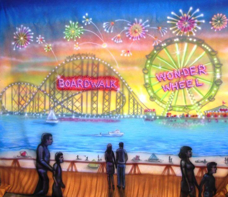 Boardwalk Themed Party | Jersey Shore Scenery Boardwalk Games Sand Lifeguard Chairs Oversized ...