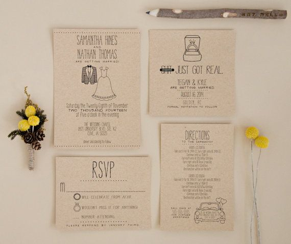 17 best ideas about whimsical wedding invitations on pinterest, Wedding invitations