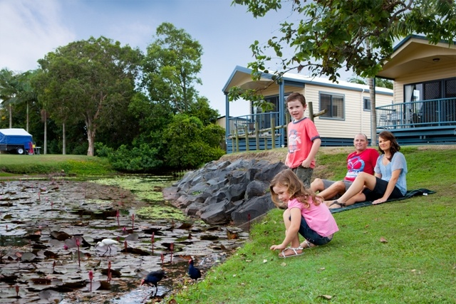 Family Time at Fraser Lodge Holiday Park