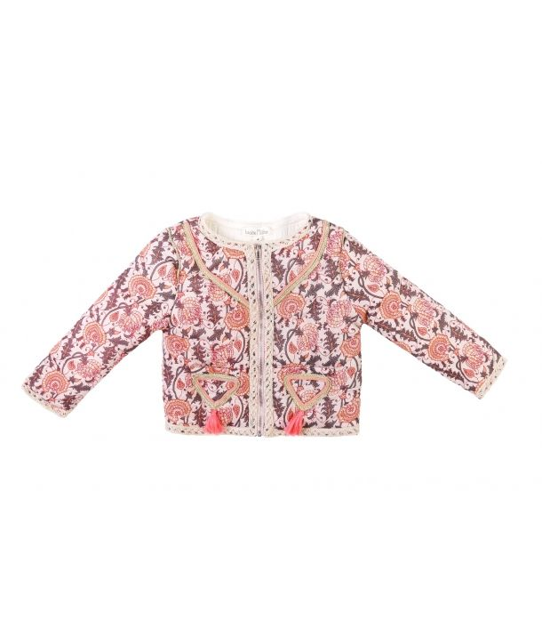Jacket Chechka flowers