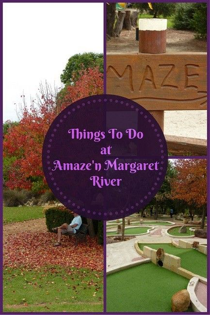Things To Do at Amaze'n Margaret River http://toddlersontour.com.au/things-amazen-margaret-river/