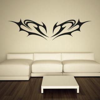Наклейка по тематике от 2stick.ru.Абстрактные крылья летучей мыши