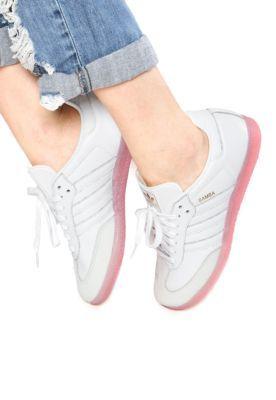 0fc1055fa27 Tênis adidas Originals Samba Branco