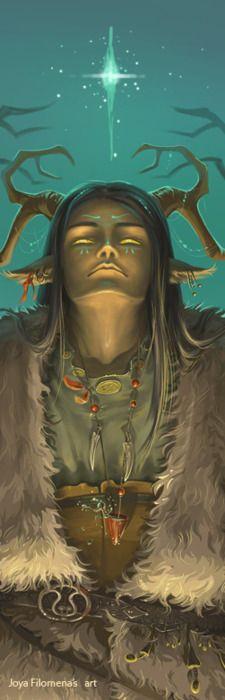 The wild eyed shaman...