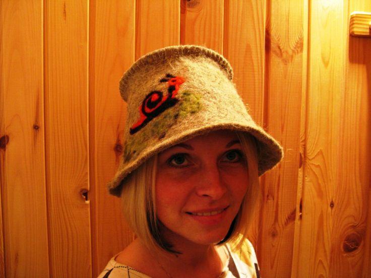 Sauna hat – Hot tub hat Umbra-1 - Wooden Hot Tubs And Barrel Saunas