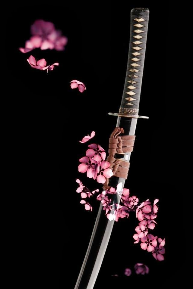 A samurai sword could signify peace as well as battle. A samurai would often give a name to his sword as he believed that the sword carried cultural and warrior spirit.
