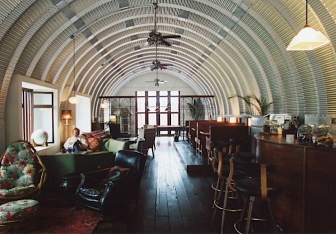 Quonset hut interiors bing images animals pinterest for Quonset hut home designs