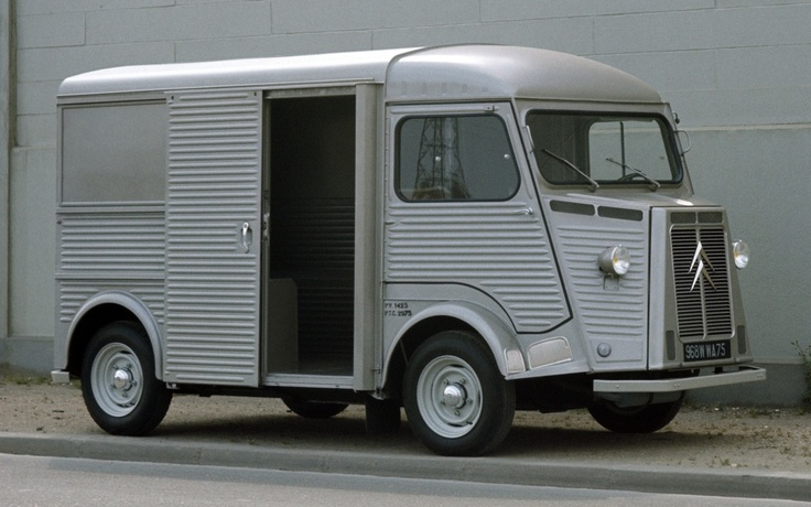 Citroen H van. #car #auto #automotive #van #metal #silver