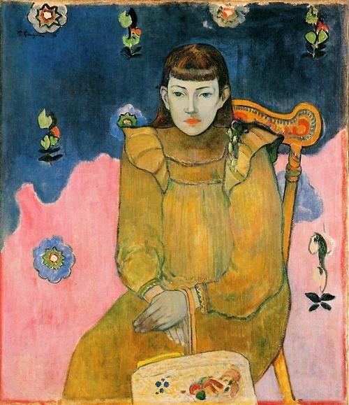 'Portret van een Jonge Vrouw' - Paul Gauguin.