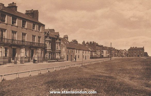 A picture postcard of South End in Seaton Carew.