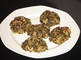 Authentic Greek Recipes: Greek Spinach Patties