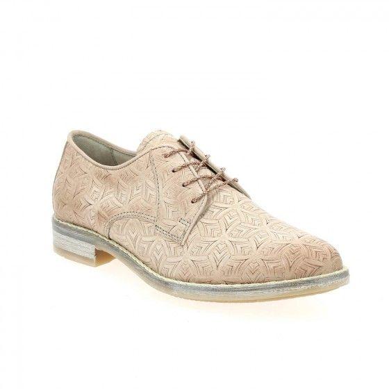 #Bessec Chaussures à lacets #MJUS SCULTI Rose à 115€ à shopper sur www.bessec-chaussures.com ou dans nos magasins !