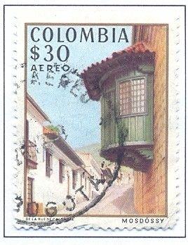 Bélyeg: El Camarin del Carmen, Bogota (Kolumbia) (Stamp Exhibition ESPAMER '78, Bogota) Mi:CO 1382,Sn:CO C665