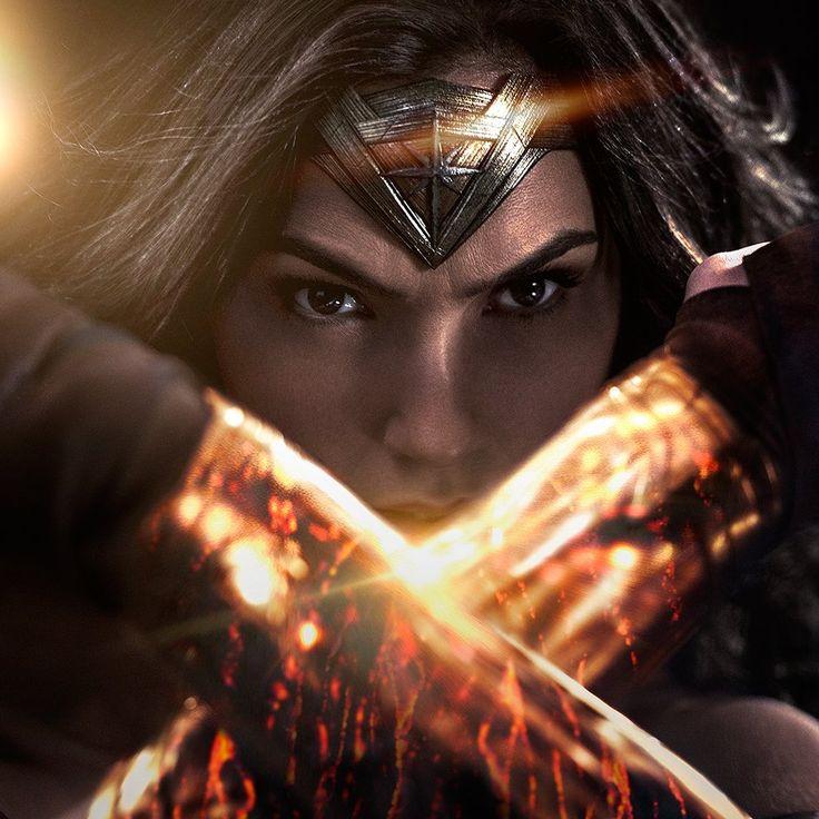 Gal Gadot as Wonder Woman for Batman V Superman (2016).