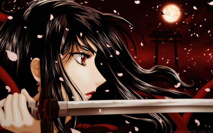 Blood C series - Saya Kisaragi