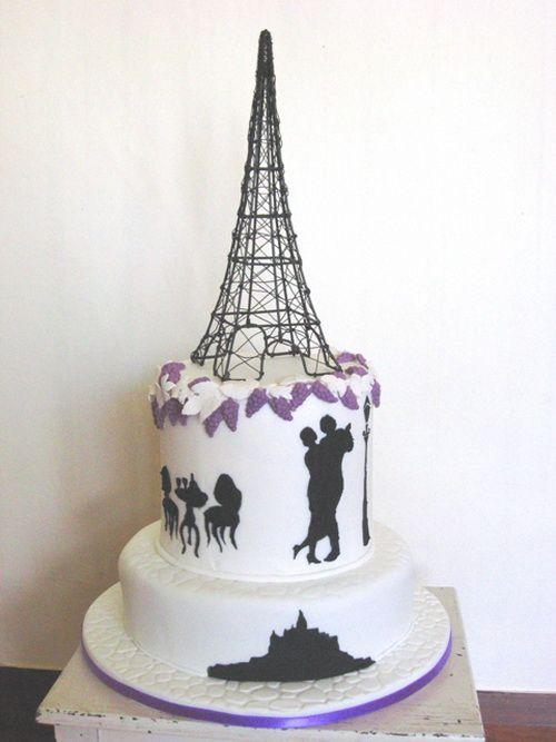 1000 Images About Cakes Paris Theme On Pinterest