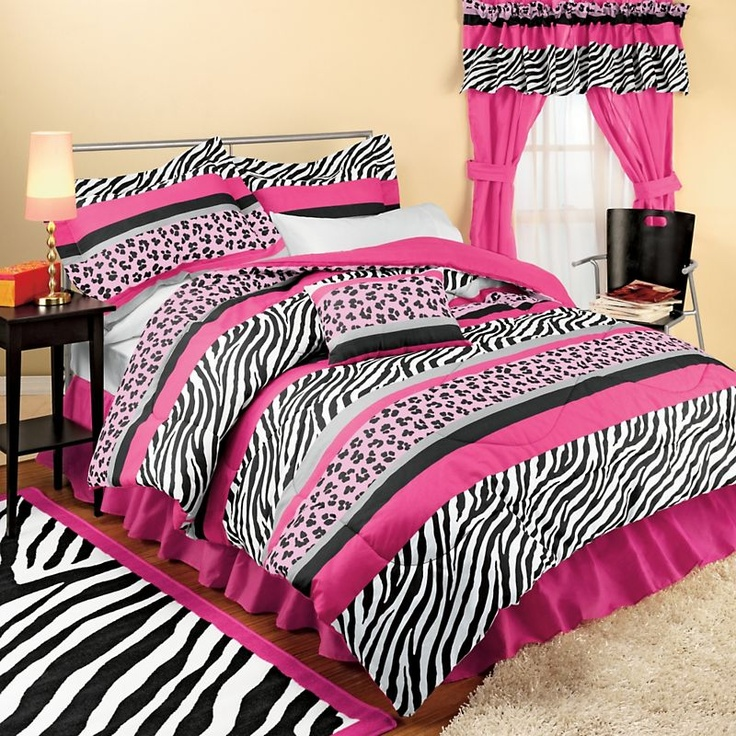 Girls Bedroom Ideas Zebra Print 107 best bedding images on pinterest | bedroom ideas, girls