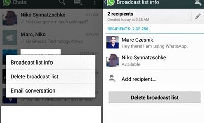 Cara Kirim BC di WhatsApp – Dikenal sebagai salah satu aplikasi messenger yang paling sederhana, WhatsApp memiliki peranan pengirim pesan yang diklaim hampir tidak memiliki kendala / pending. Penggunaannya sendiri juga lebih smooth dengan tampilan yang lebih sederhana tanpa adanya iklan. Seperti yang sudah diketahui bahwa WhatsApp merupakan aplikasi lintas platform yang bisa diterapkan pada …