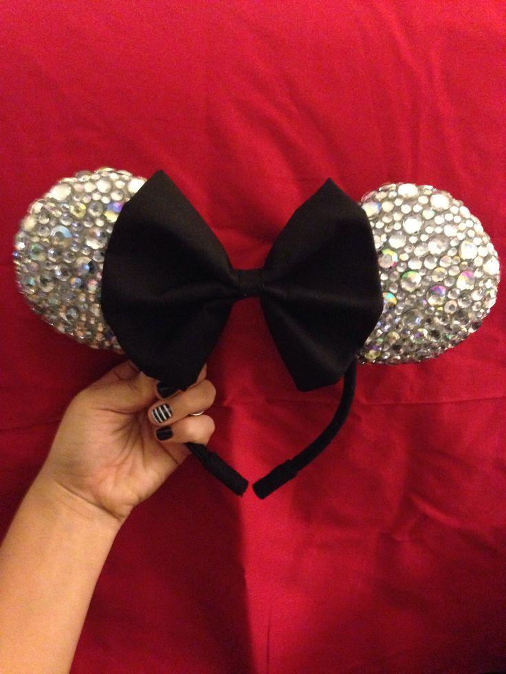 Diy Minnie Mouse ears