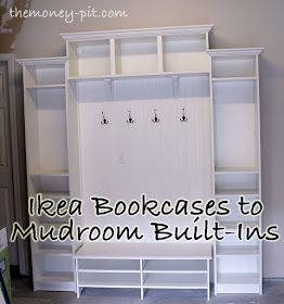 The Kim Six Fix: Adding Mudroom Built-Ins to the Garage. total : $309.  use something else (make?) for the bench...dont like the gap
