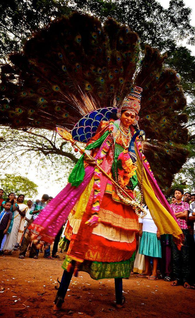 Athachamayam Festival, Tripunithura, Kerala, India by Ashit Desai, via Flickr