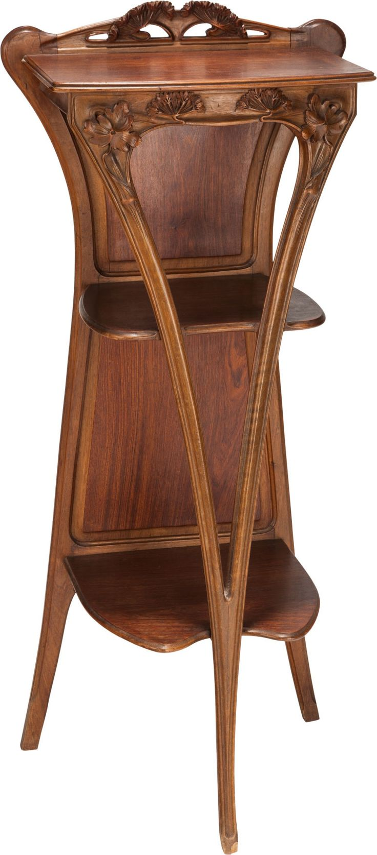 Rare original beech stained chair by eugene gaillard circa 1900 at - French Art Nouveau Mahogany Tag Re Circa 1900