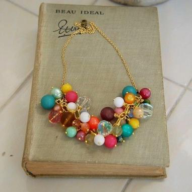 Gum drop necklace. $68.00: Style, Color, Gumdrop Necklace, Necklaces, Gum Drop, Bubble Gum