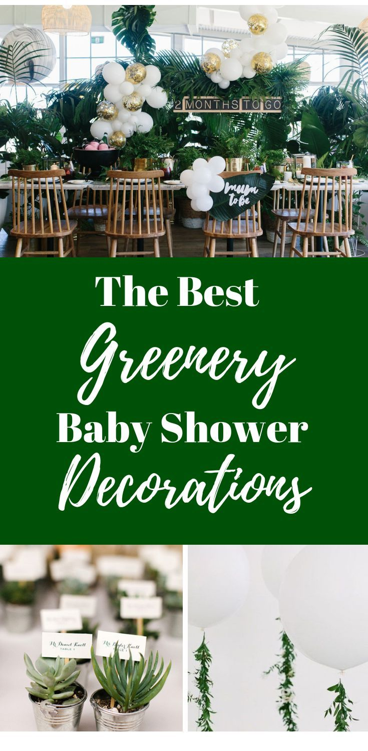 Greenery Baby Shower Ideas Diy Greenery Decorations For A Gender