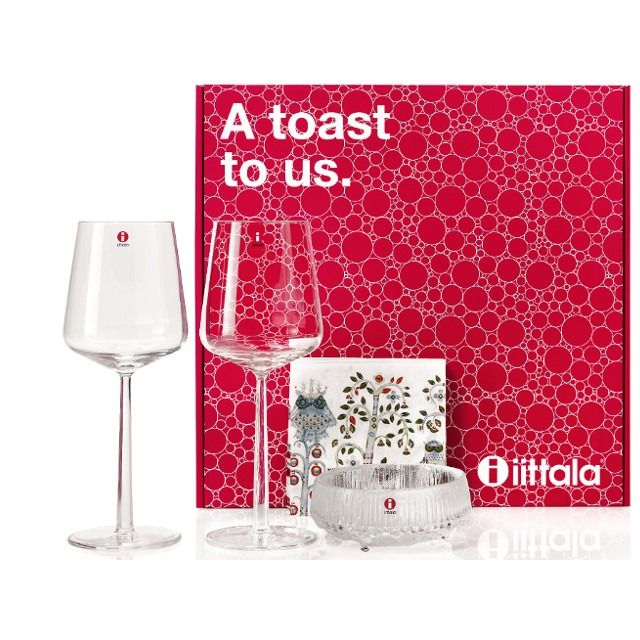 Iittala Gift Box 1 A toast to us - BOHERO.EU