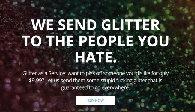 Glitter Bomb Your Enemies As One Company Offers A New Way To Get Your Revenge! - Company Offers, Enemies, Glitter Bomb, News, Revenge