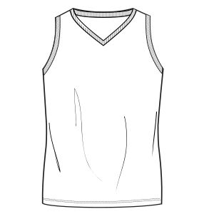 Browse our catalogue for sewing patterns Bascketball T-Shirt 7016 MEN T-Shirts