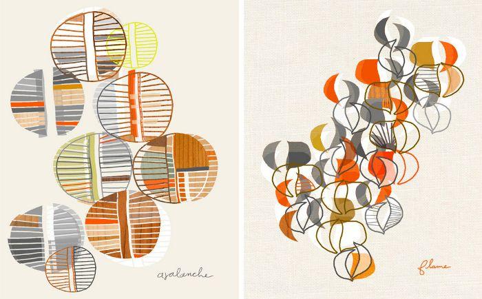 Prints by Linda Ketelhut // via @Jill Browning