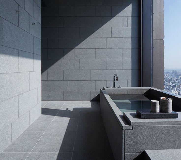 The Suite bath-Explore Aman Tokyo - Explore our Luxury Hotels - Aman
